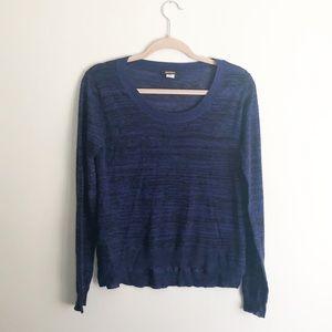 Kerisma Lightweight Indigo Blue Sweater Size Large